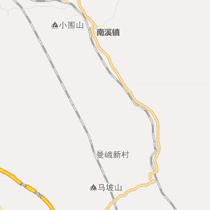 红河州河口县行政地图
