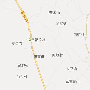 大邑县金星乡行政地图
