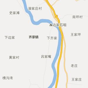 临洮县新添镇行政地图