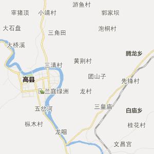 四川行政地图 宜宾行政地图 宜