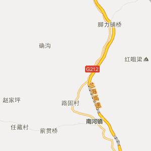 陇南宕昌行政地图_中国电子地图网