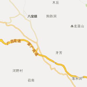 广南八宝行政地图_中国电子地图网图片