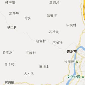 四川行政地图 泸州行政地图