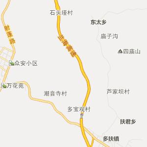 四川省行政地图 南充市行政地图