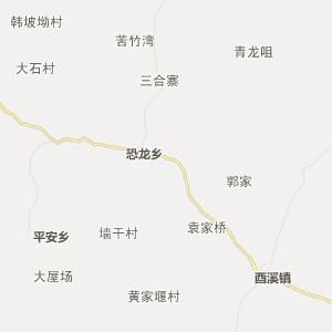 四川行政地图 南充行政地图
