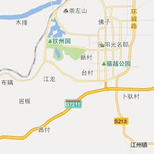 广西崇左行政地图_崇左行政区划图