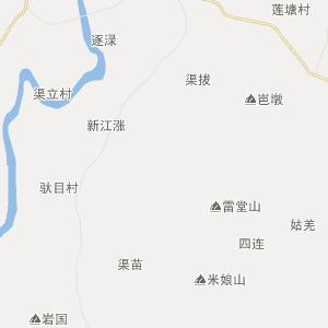 扶绥渠旧行政地图_中国电子地图网图片