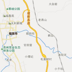 毕节市铁路地图