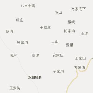 陕西行政地图 宝鸡行政地图