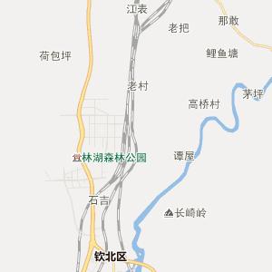 广西钦州行政地图_中国电子地图网