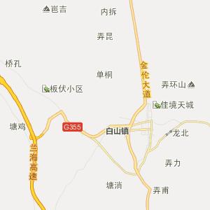 大化县乡镇地图