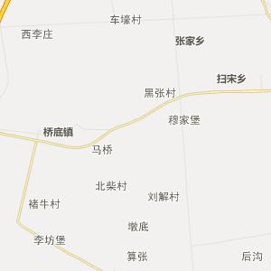 泾阳县蒋路乡行政地图