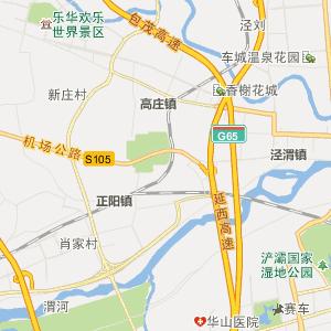 陕西省行政地图 西安市行政地图