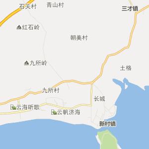 海南陵水行政地图_中国电子地图网