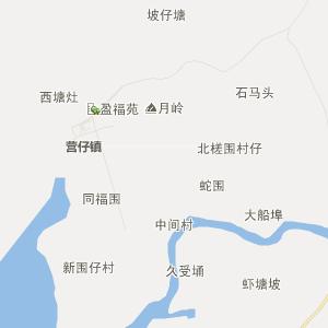 市营仔镇行政区划 营仔镇位于廉江市西南部