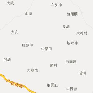 广西行政地图 玉林行政地图