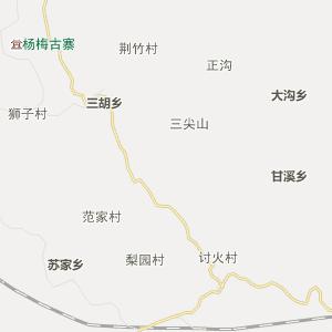 湖北行政地图 恩施行政地图