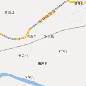 云阳龙洞行政地图_龙洞在线行政图