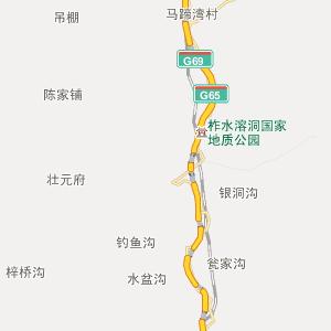 柞水小岭行政地图_中国电子地图网