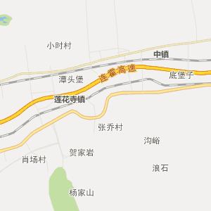 陕西行政地图 渭南行政地图
