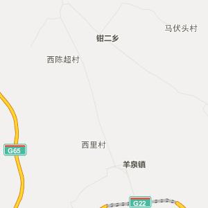 陕西行政地图 延安行政地图