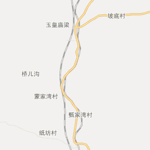 延安市甘泉县电子地图