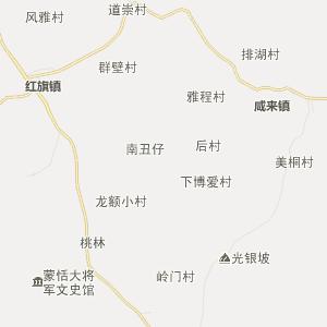 龙塘镇地图_清城区龙塘镇三维电子地图和邮编