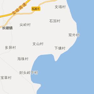 琼海市嘉积镇街区地图