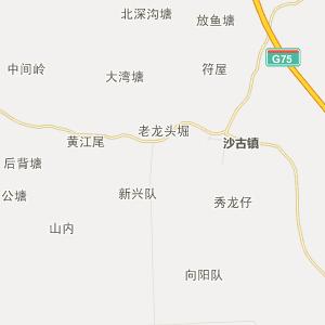 廉江市营仔镇行政地图