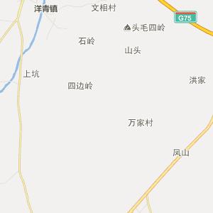 湛江市遂溪县行政地图