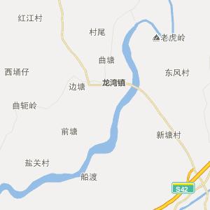 广东省行政地图 湛江市行政地图