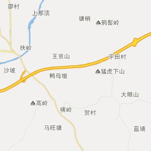 湛江市廉江市行政地图