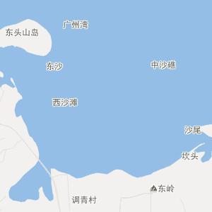 广东行政地图 湛江行政地图