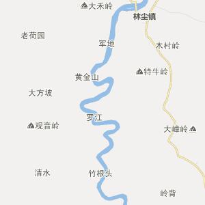 广东省行政地图 茂名市行政地图