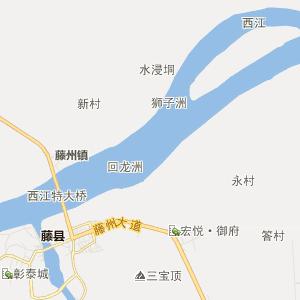 距藤县县城约10公里,距梧州市70公里