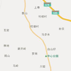 广西行政地图 桂林行政地图
