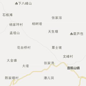 所街乡卫星地图 常德市石门县所街乡卫星地图