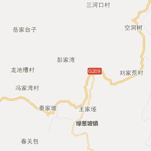 湖北省行政地图 恩施州行政地图