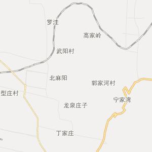 渭南市合阳县行政地图
