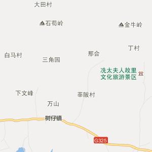 广东行政地图 茂名行政地图