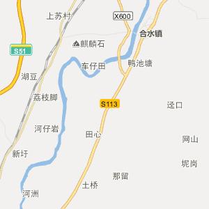 阳春合水行政地图_合水在线行政图图片