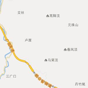 广东行政地图 肇庆行政地图