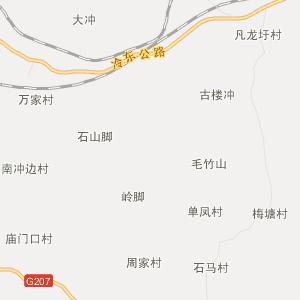 永州东安在线(dongan)行政地图