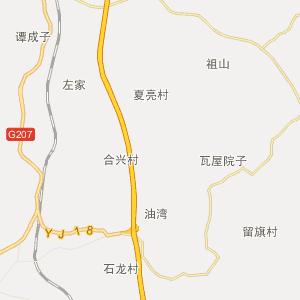 邵阳县五峰铺镇在线行政地图实用查询