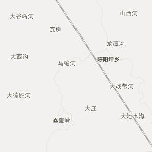 西峡县寨根乡高清行政地图