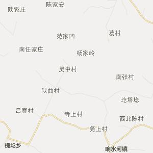 临汾浮山行政地图_中国电子地图网图片