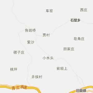 山西行政地图 临汾行政地图