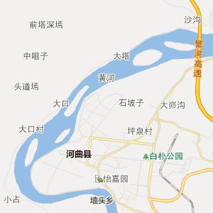 济南到邢台地图