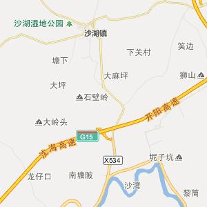 南宁市大沙 地图