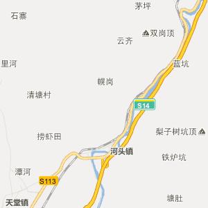 广东省行政地图 云浮市行政地图